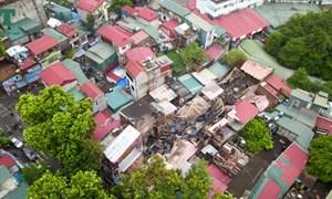 [Video] Vụ cháy tại Hà Nội thiêu rụi 19 căn nhà