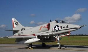 Hé lộ về loại siêu cường kích Mỹ A-4 Skyhawk một thời từng bị Việt Nam bắn hạ