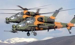 """Khám phá trực thăng tấn công hạng nhẹ T-129 """"hầm hố"""" của Thổ Nhĩ Kỳ"""