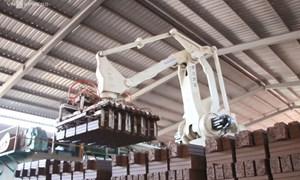 [Video] Robot bốc gạch thay thế 30 nhân công ở Bắc Giang
