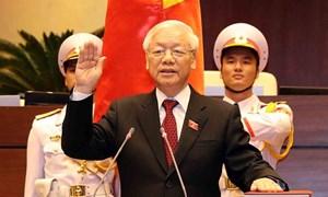 [Infographic] Quá trình công tác của Tổng Bí thư, Chủ tịch nước CHXHCN Việt Nam Nguyễn Phú Trọng
