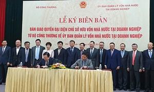 Bàn giao 6 doanh nghiệp của Bộ Công Thương về Ủy ban quản lý vốn nhà nước tại doanh nghiệp
