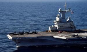 Cận cảnh boong tàu sân bay Charles de Gaulle của hải quân Pháp