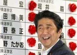 Bầu cử Nhật Bản: Đảng của Thủ tướng Abe thắng lớn