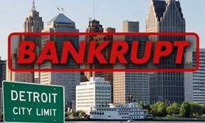 Ngân hàng châu Âu cuốn theo phá sản Detroit