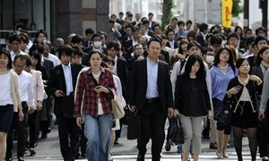 Nikkei chạm đáy 6 tuần, Yên lập đỉnh 7 tuần sau số liệu GDP thất vọng của Nhật Bản