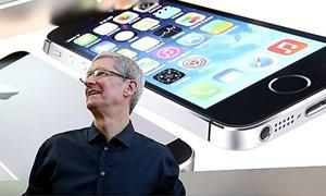 """Doanh số iPhone tăng vọt, Apple báo lãi """"khủng"""""""