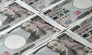 Đồng yen Nhật giảm xuống mức thấp nhất trong sáu tháng