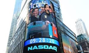Facebook gia nhập rổ tính S&P 500 từ 20/12