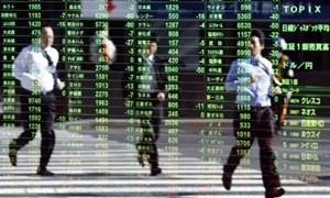 Chỉ số Nikkei của Nhật Bản đạt mức cao nhất kể từ năm 1972