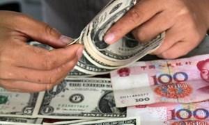 Dự trữ ngoại tệ của Trung Quốc tăng lên trên 3.800 tỷ USD