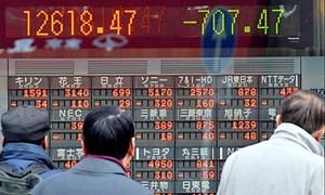 Chứng khoán châu Á giảm sau số liệu PMI của Trung Quốc