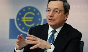 Chủ tịch ECB tin tưởng Eurozone sẽ tái tăng trưởng kinh tế