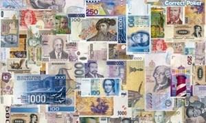 Tỷ giá hạch toán USD tháng 8/2016 là 21.872 đồng/USD