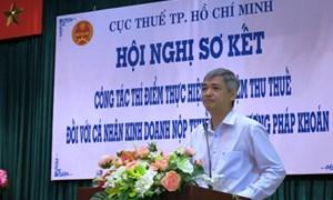 Thí điểm ủy nhiệm thu thuế tại TP.Hồ Chí Minh: Nợ đọng giảm 31,3%