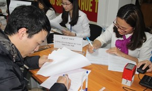 Hà Nội: Tiếp nhận hồ sơ quyết toán thuế cả ngày thứ 7