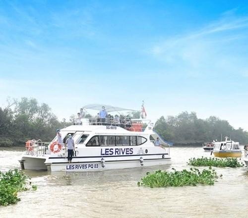 Tour trải nghiệm đường sông tham quan biệt thự mẫu và nắm bắt cơ hội đầu tư đô thị đảo Phượng Hoàng
