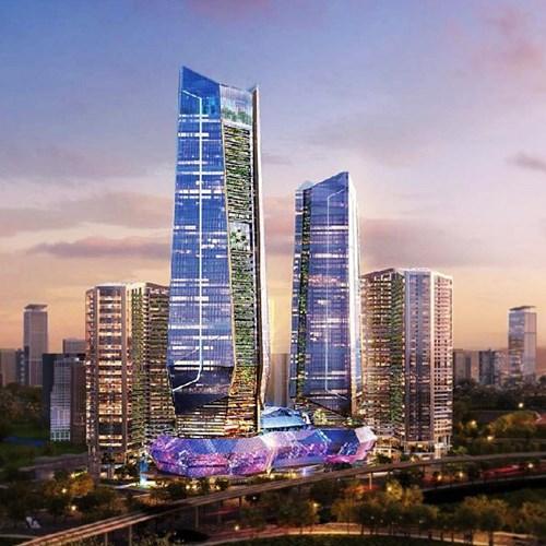 Tập đoàn nào gắn với 3 trung tâm tài chính theo trục Bắc - Trung - Nam?