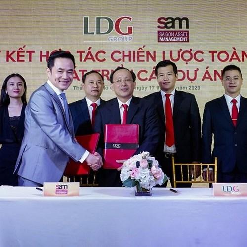 LDG công bố 5 dự án chiến lược vốn khoảng 61.000 tỷ đồng, ký kết hợp tác với quỹ đầu tư S.A.M