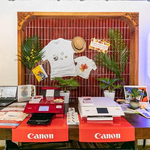Ra mắt máy in mới bùng nổ về màu sắc và tính năng của Canon