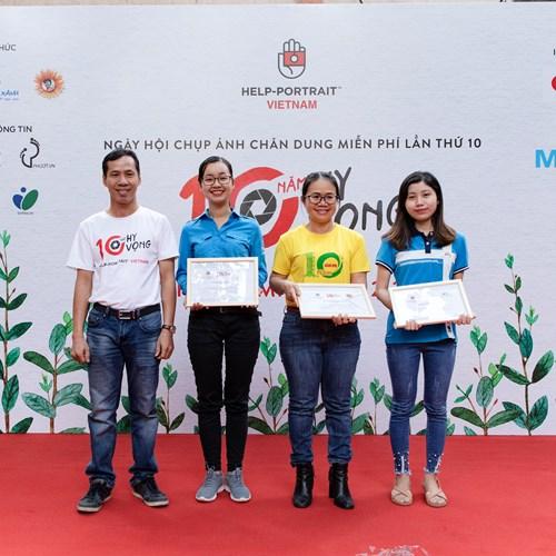 10 năm Canon Việt Nam đồng hành cùng Ngày hội chụp ảnh chân dung vì cộng đồng