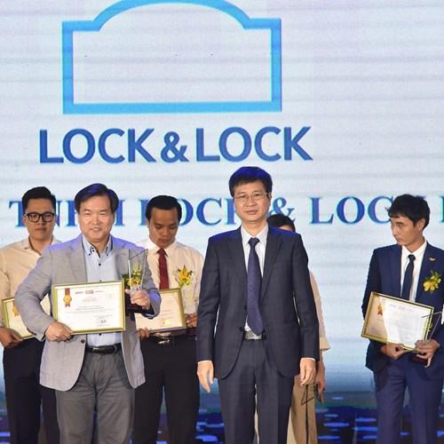 Lock & Lock lọt top 10 thương hiệu gia đình tin dùng năm 2019