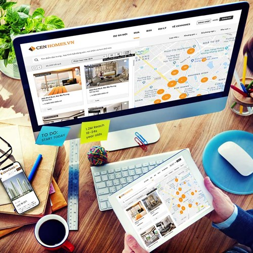 Cenhomes.vn - Phương thức giao dịch bất động sản kiểu mới vì cộng đồng