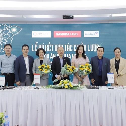 Ký kết hợp tác chiến lược dự án Dahlia Homes giữa Gamuda Land Việt Nam – Cenland – VietinBank Tràng An