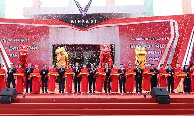 Vingroup chính thức khánh thành nhà máy ô tô VinFast