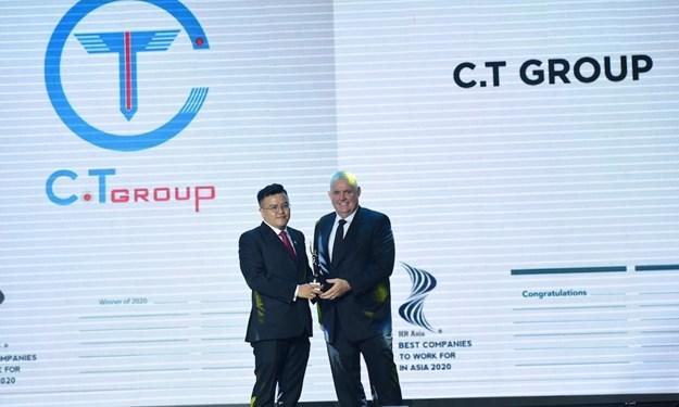 Tập đoàn C.T Group nhận giải thưởng