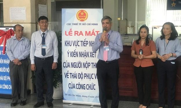 Cục Thuế TP. Hồ Chí Minh thí điểm công cụ đánh giá thái độ phục vụ của công chức thuế