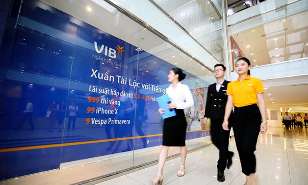 VIB đã bán hơn 1,9 triệu cổ phiếu quỹ để chia thưởng