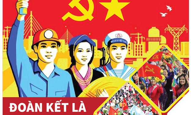 [Infographics] Đoàn kết là sức mạnh của Đảng