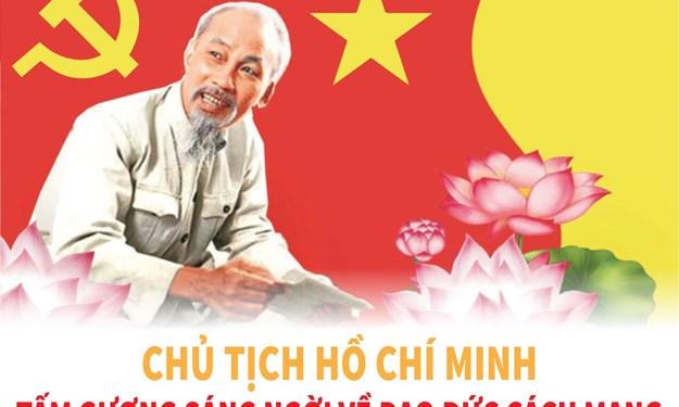 [Infographics] Chủ tịch Hồ Chí Minh nói về đạo đức cách mạng của người đảng viên