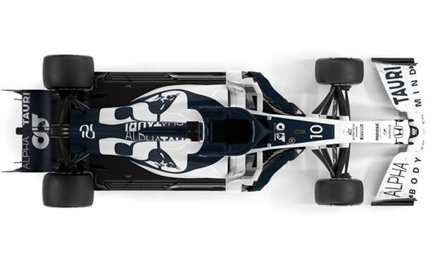 [Ảnh] Đội đua AlphaTauri ra mắt mẫu xe mới cho mùa giải F1 2020