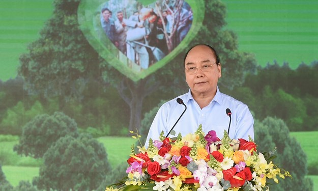 [Video] Thủ tướng Chính phủ phát động chương trình trồng 1 tỷ cây xanh