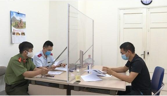 Xử phạt 12,5 triệu đồng đối tượng tung tin sai sự thật về ''phong tỏa'' Hà Nội