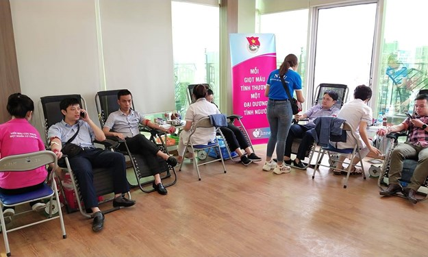 """2.400 đơn vị máu đã được hiến cho người bệnh trong Chương trình """"Bảo Việt - Vì hạnh phúc Việt"""""""