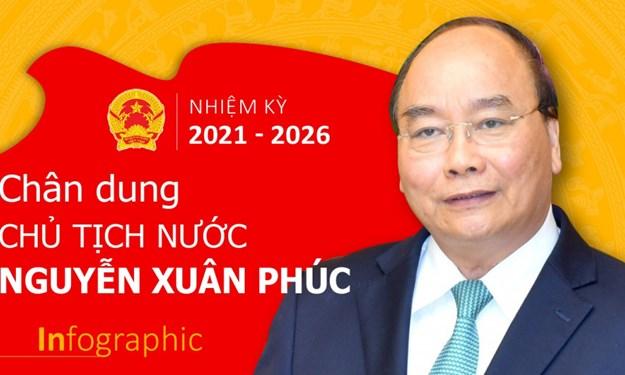 [Infographics] Chân dung Chủ tịch nước nhiệm kỳ 2021- 2026 Nguyễn Xuân Phúc