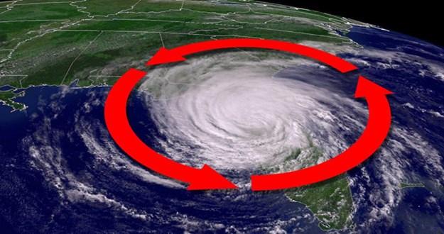 [Video] Vì sao bão nhiệt đới xoay ngược chiều kim đồng hồ