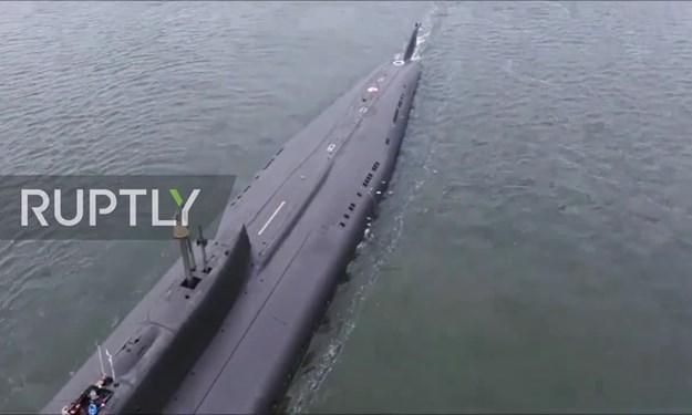 """[Video] Tàu ngầm hạt nhân Nga khai hỏa """"sát thủ diệt hạm"""""""