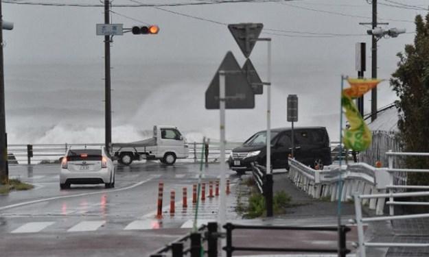 [Ảnh] Hoang tàn trong siêu bão Hagibis, Nhật Bản