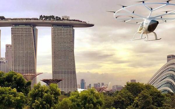 [Video] Singapore thử nghiệm bãi đỗ đầu tiên cho taxi bay