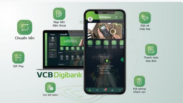 Nhiều tình năng được cập nhật trên VCB Digibank