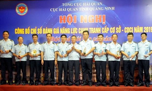 Hải quan Quảng Ninh công bố chỉ số đánh giá năng lực cạnh tranh cấp cơ sở