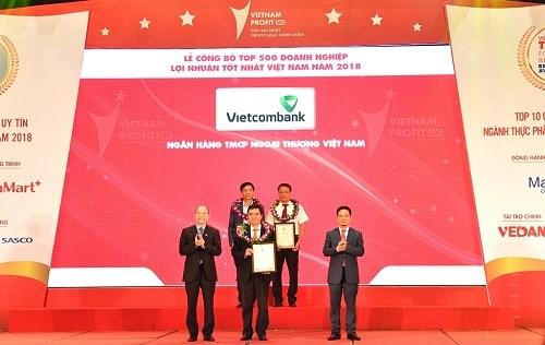 Vietcombank  -  Top 10 doanh nghiệp lợi nhuận tốt nhất Việt Nam năm 2018