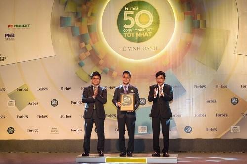 Vietcombank – Top 50 Công ty niêm yết tốt nhất Việt Nam