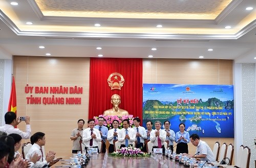 Vietcombank hợp tác cung cấp dịch vụ thanh toán phí, lệ phí tại Quảng Ninh