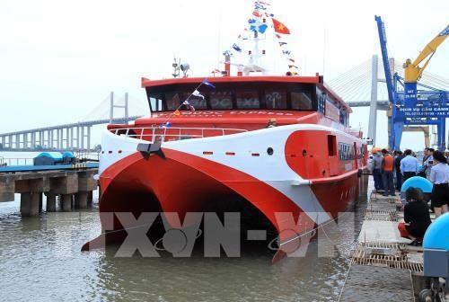 Tàu thủy cao tốc Vũng Tàu - Côn Đảo di chuyển chỉ 3 giờ