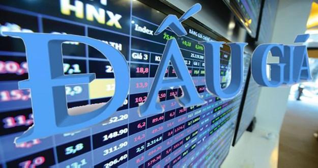 Tháng 3: đấu giá cổ phần tại HNX thu trên 1.758 tỷ đồng